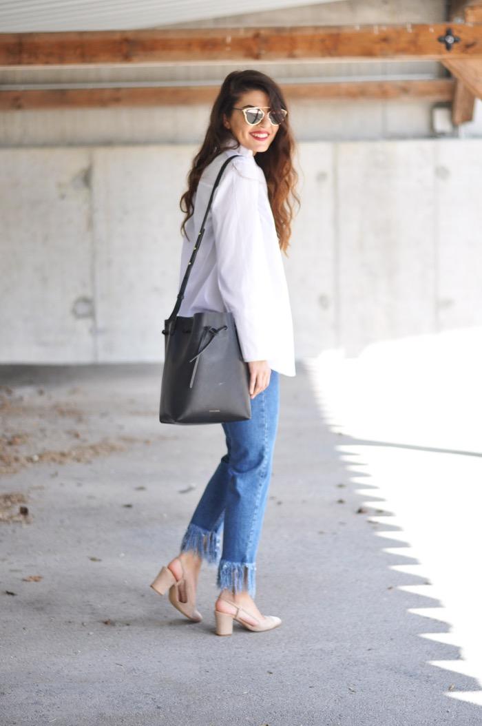 Fashionnes_Trumpet_Blouse_Fringed_Jeans