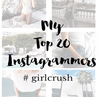 My top 20 Instagrammers #girlcrush