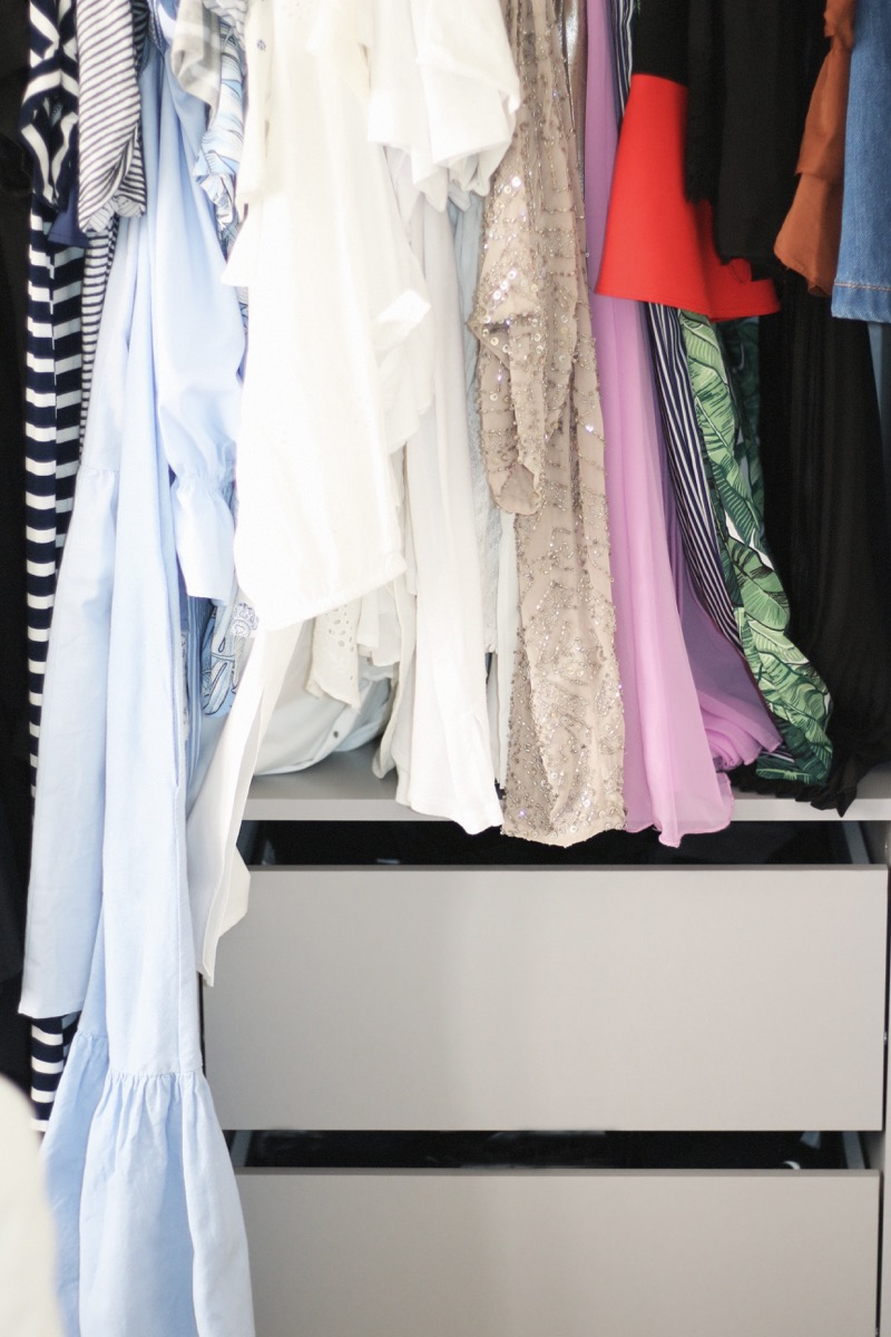 how to clean your closet wikihow