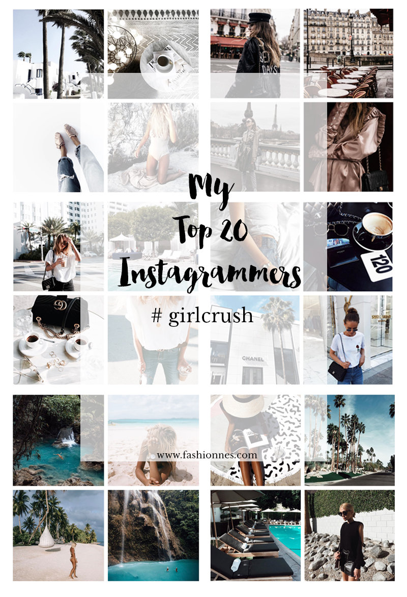 My Top 20 Lifestyle And Fashion Instagrammers #girlcrush