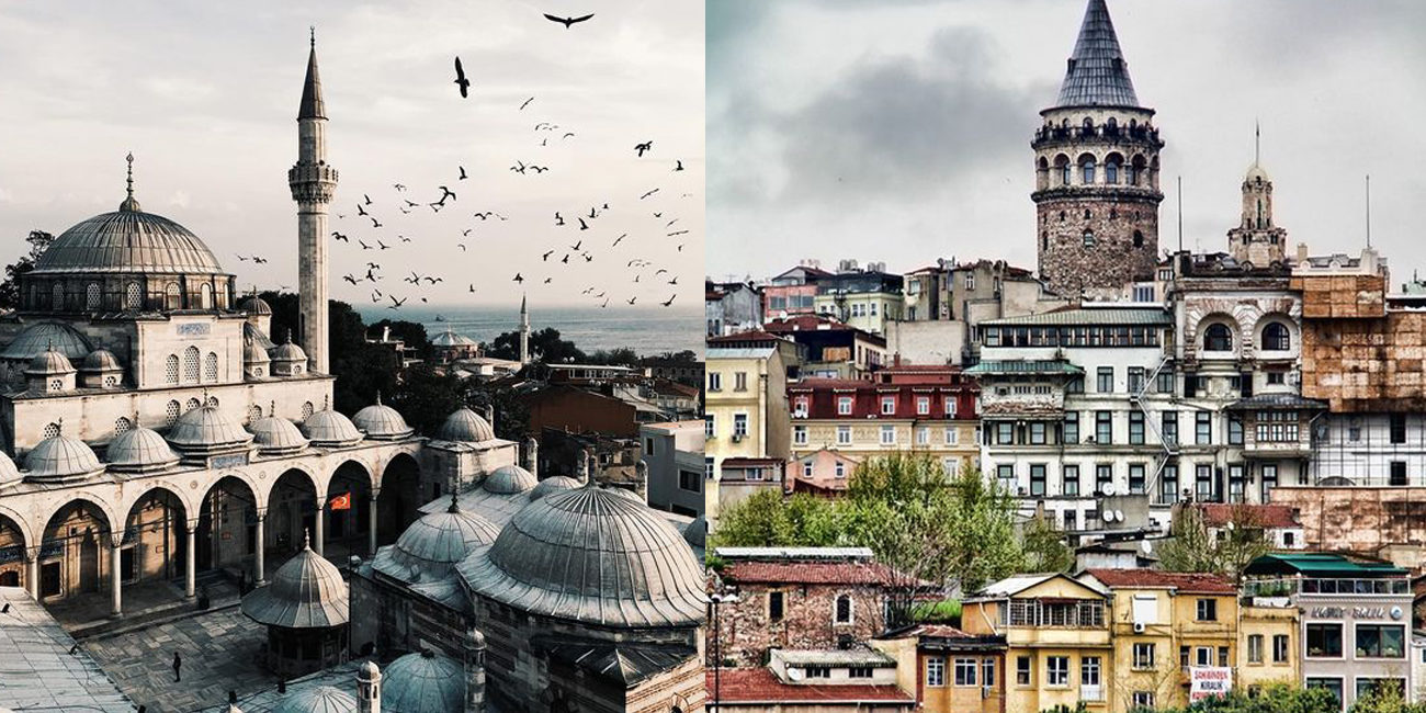 I'm going to…Istanbul!
