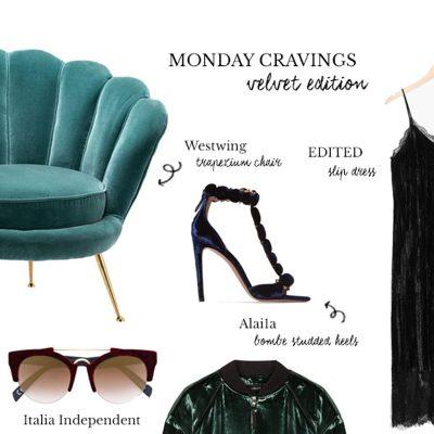 Monday Cravings: Velvet Trend