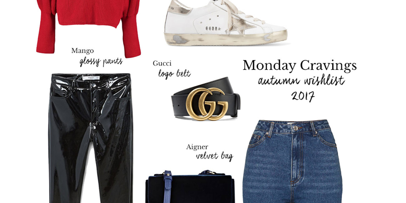 Monday Cravings: Autumn Wishlist