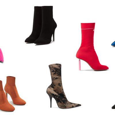 Monday Cravings: Sock Boot Trend