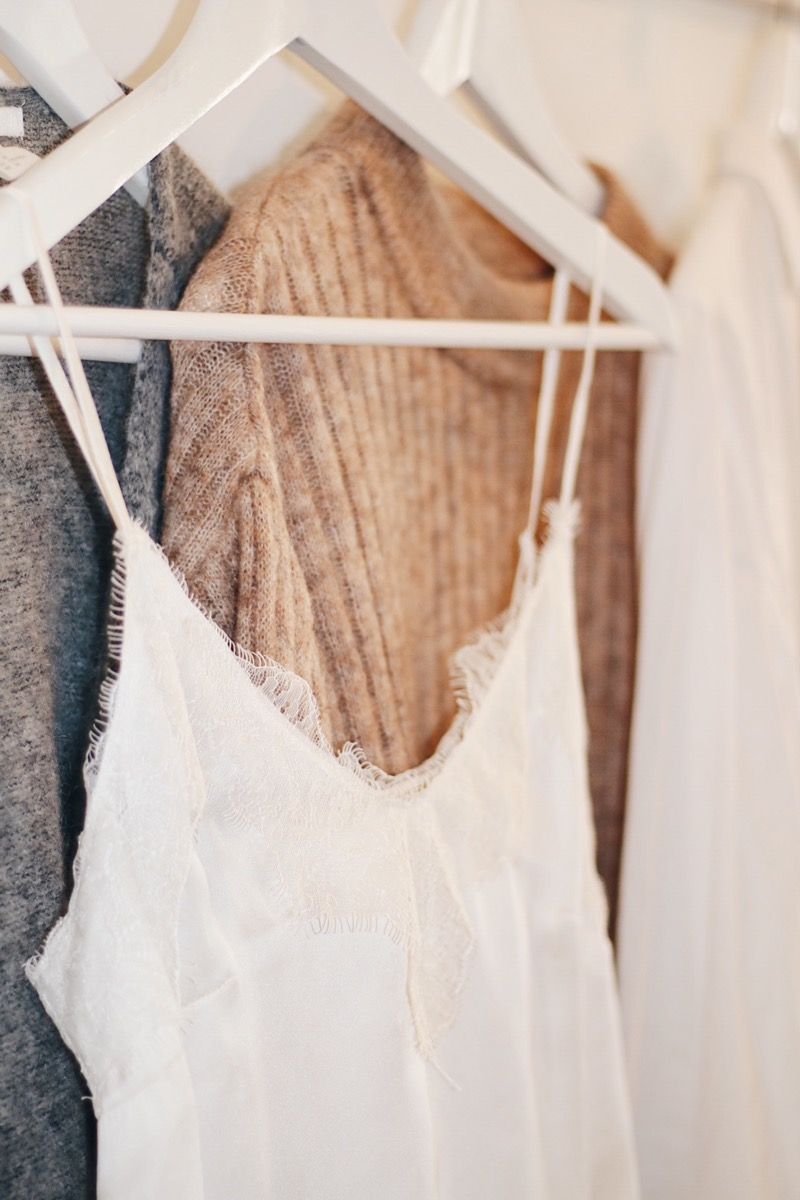 how to build up a fall wardrobe_lace camisole