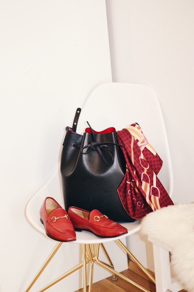 how to build up a fall wardrobe_mansur gavriel bucket bag
